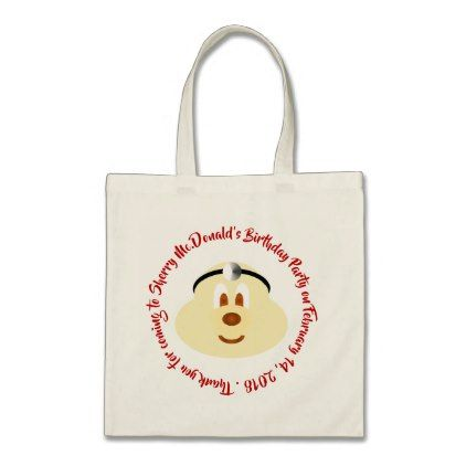Doctor 鮑 鮑 Birthday Souvenir Tote Bag 2 - birthday gifts party celebration custom gift ideas diy