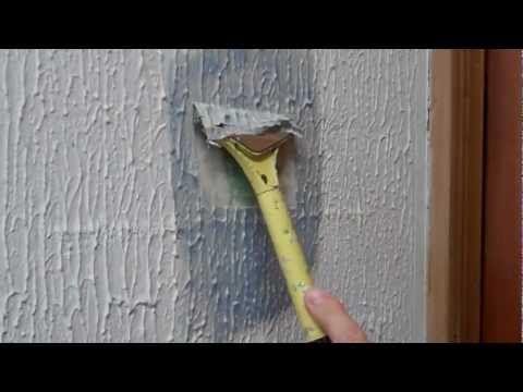 Removing Artex (pop-corn Ceilings) Using X-Tex®