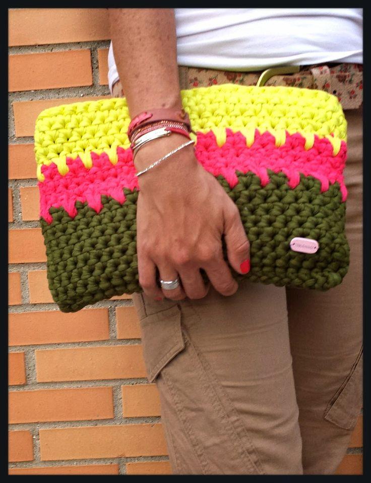 THE CUTIES LAB: Handbag de trapillo
