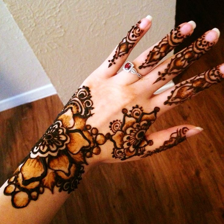 Henna shading technique henna