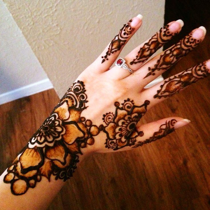 Henna shading technique  Facebook.com/HennabyKayla