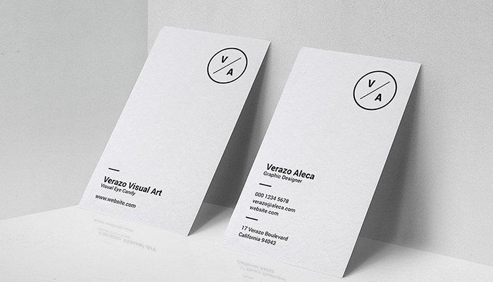 Top Business Card Design Trends Expected To Rule In 2020 Minimalist Business Cards Create Business Cards Modern Business Cards