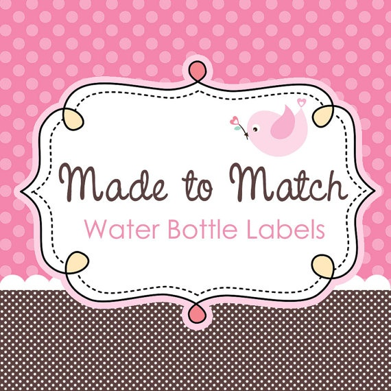 75 Best Images About Water Bottle Labels On Pinterest: 17 Best Images About Printable Water Bottle Labels On