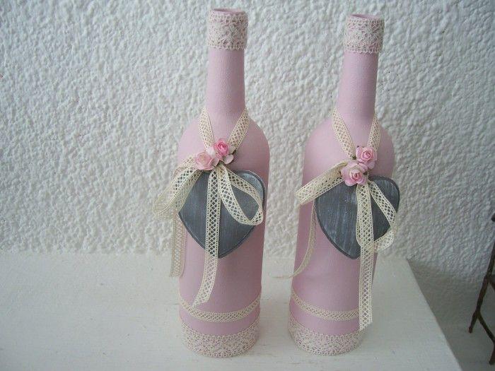 25 beste idee n over verf flessen op pinterest wijnflessen schilderij spuit geschilderde - Deco ideeen ...