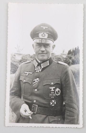 GdI Friedrich-Wilhelm Müller (1897-1947) RKES - KG LXVIII.Armeekorps
