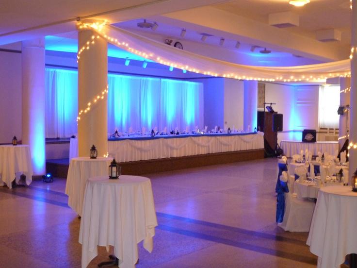 ... masonic masonic center center blue blue uplighting decor lighting home