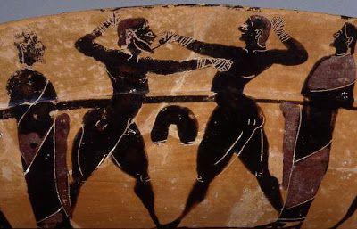 Um interessante artigo publicado no blog italiano Salvatore Lo Leggio mostra que a corrupção não é prerrogativa da era moderna, seja no esporte, política ou cultura. Tudo está interligado quando fala mais alto o ego, ganância e a vaidade. A leitura serve como reflexão sobre o assunto em tempo de Jogos Olímpicos http://www.pan-horamarte.com.br/blog/corrupcao-era-comum-nas-olimpiadas-da-grecia-antiga/