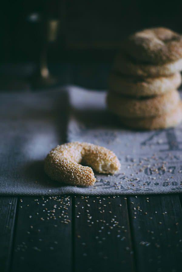 Koulouria-Sesame Bread Rings (Souvlaki For The Soul)