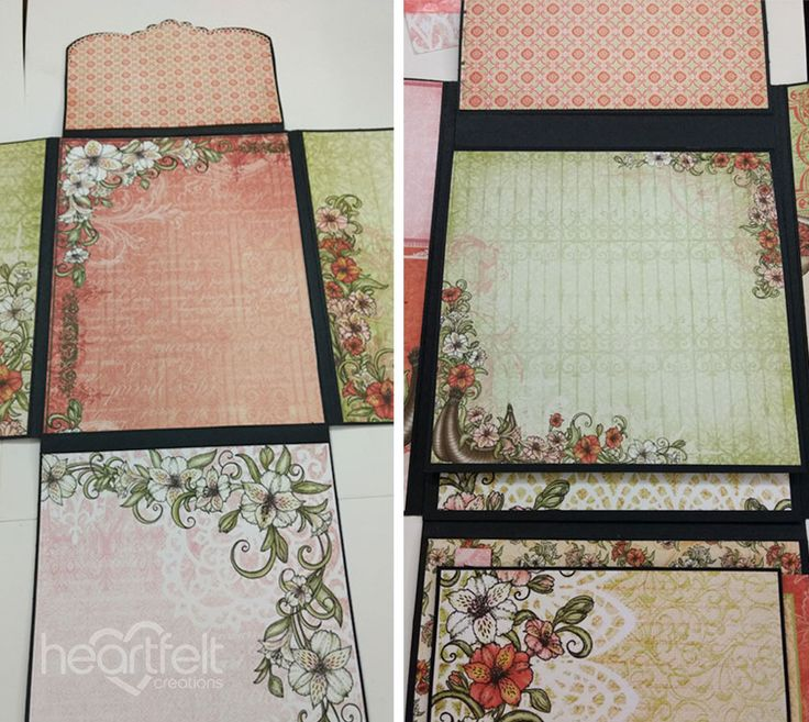 How to make stunning mini albums step-by-step tutorial - Heartfelt Creations