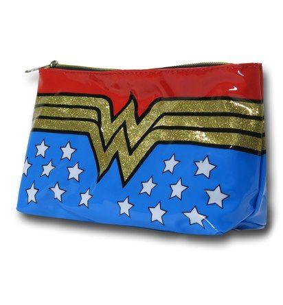 Images of Wonder Woman Makeup Bag