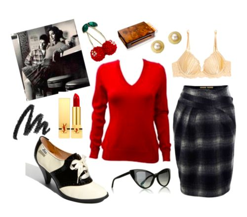 Audrey Horne- Twin Peaks (swap the plaid for an alternate pattern though)