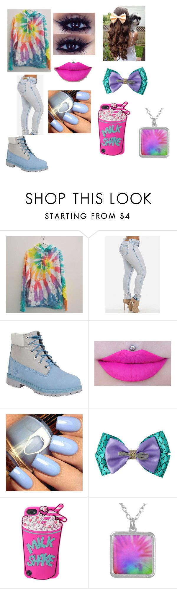 """""""Tie Dye #2"""" by kaywolf ❤ liked on Polyvore featuring mode, Timberland et Disney"""