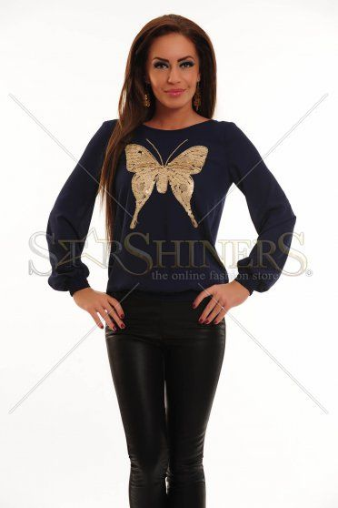 Bluza LaDonna Cute Butterfly DarkBlue