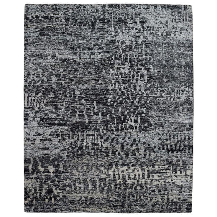 FineRugCollection Handmade Modern Sari Oriental Rug