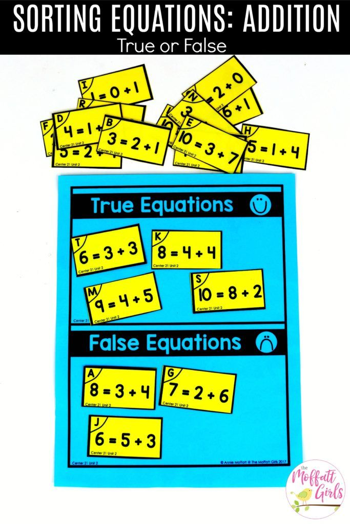 First Grade Math Addition First Grade Math Math First Grade