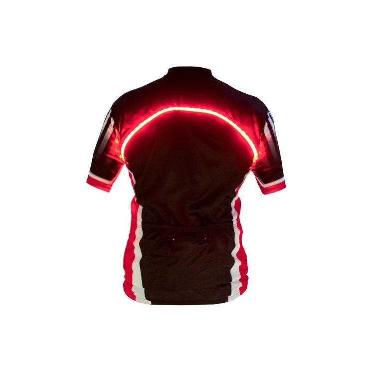 High Visibility LED Cycling Jersey