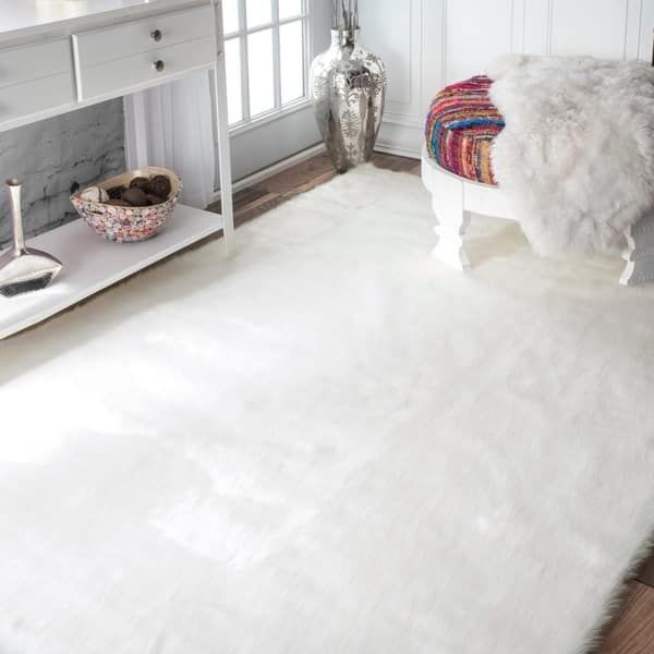 Overstock Com Online Shopping Bedding Furniture Electronics Jewelry Clothing More In 2020 White Shag Rug Shag Rug Rugs In Living Room