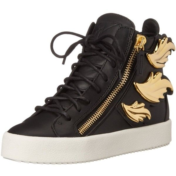 Giuseppe Zanotti Women's RS6096 Fashion Sneaker ($1,175) ❤ liked on Polyvore featuring shoes, sneakers, giuseppe zanotti, giuseppe zanotti trainers, giuseppe zanotti sneakers and giuseppe zanotti shoes