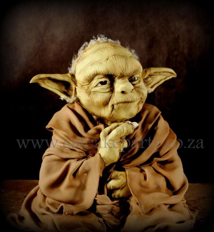 Yoda Cake - Cake by Dorothy Klerck