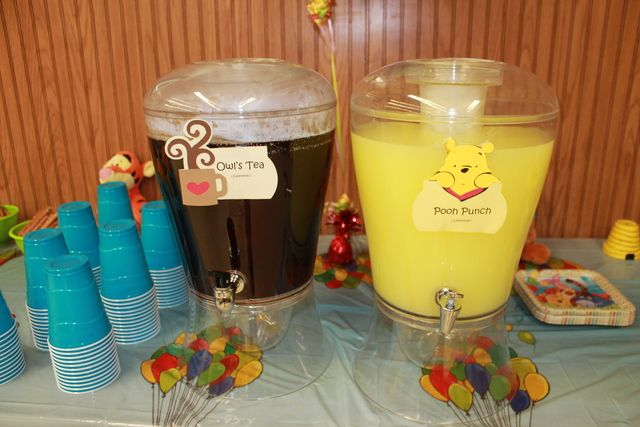26 best Winnie the pooh images on Pinterest Birthday party ideas