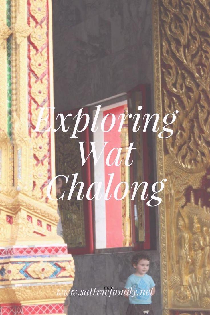 Exploring Wat Chalong in Phuket