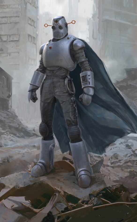 Fallout 4,Fallout,фаллаут приколы,фэндомы,Automatron,Механист,Fallout art
