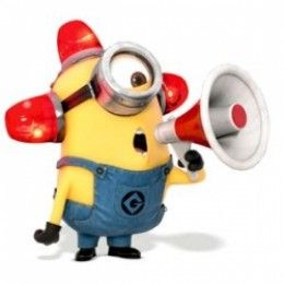 """Find out how to Make a Bee-do Minion Hat and Costume for the yellow minion from Despicable Me 2, then go around sounding the alarm """"Bee-do, Bee-do!"""""""