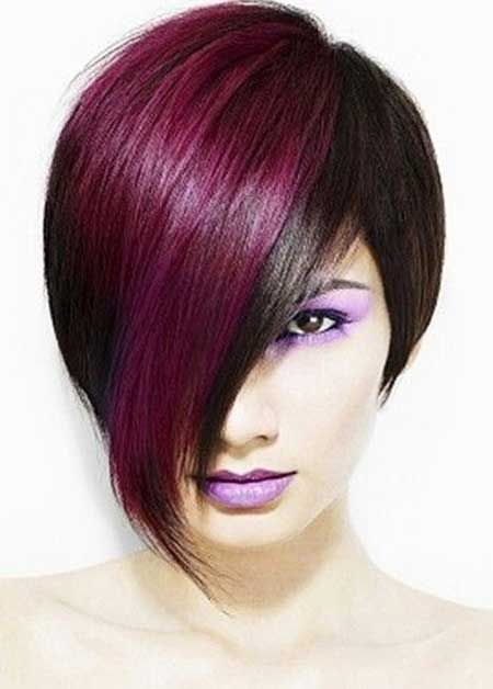 Cool Hair Colors for Short Hair . love the cut and colour