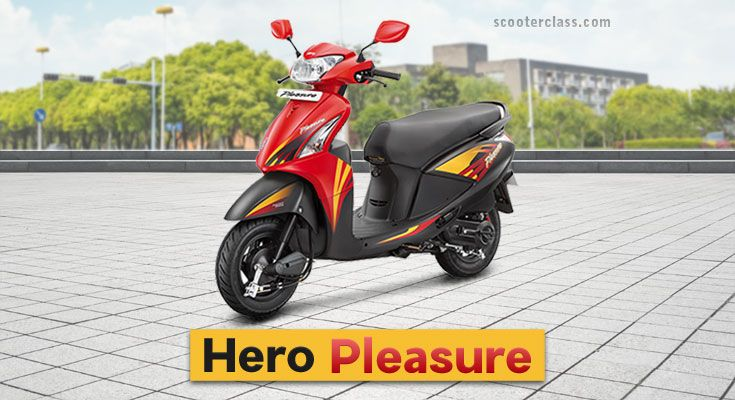 Hero Pleasure Price Colours Images Models Mileage With Images