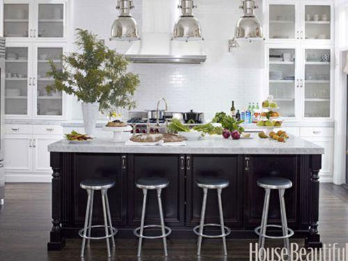 15 Ways to Rethink a Kitchen Island & 440 best kitchens images on Pinterest | Kitchen designs ... azcodes.com
