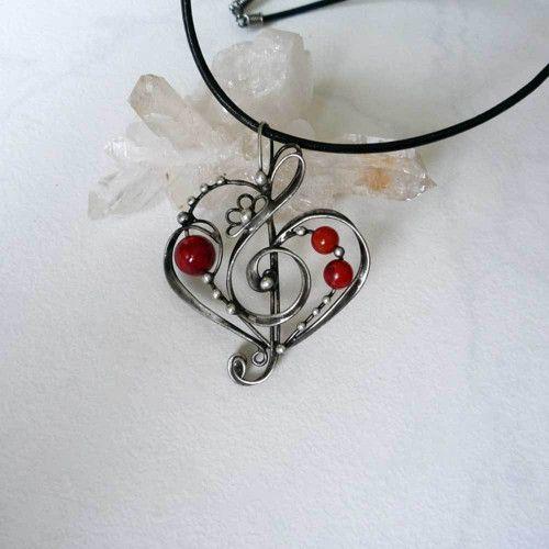 Láska k hudbě - korál houbový