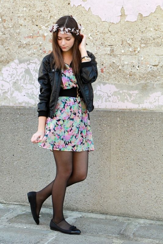 Amanda (amandaslifeandstyle.blogspot.hu)'s outfit: F&F, Ninakoko, Ebay, Calzedonia and H&M pieces.