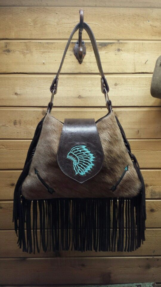 grey air max plus Large hobo bag from H amp M Valley Ranch with Indian headress and arrows        hmvalleyranch gmail com