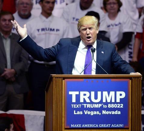 Donald Trump vence caucus republicano em Nevada (foto: EPA)