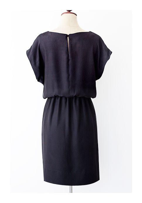 Pattern Runway: Easy Short Sleeved Kimono Dress ~ Great for beginner Sewers
