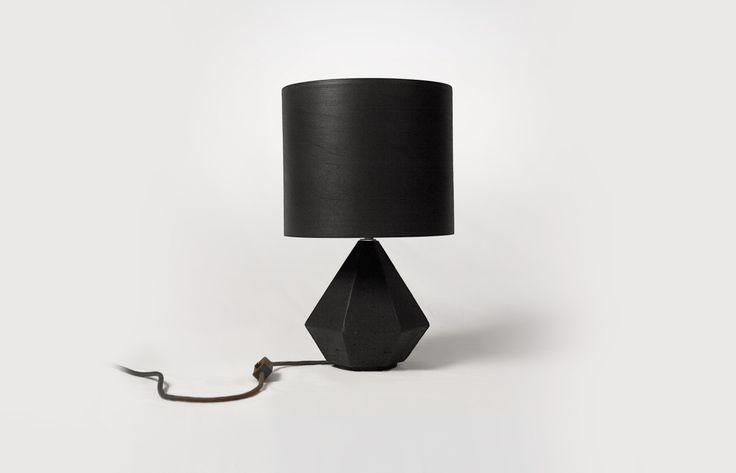 Diamond Lamp Black http://www.nutsandwoods.de