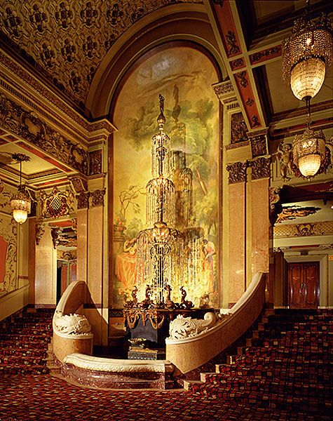 Lobby Entry Fountain, Los Angeles Theatre, Los Angeles, California, 1992