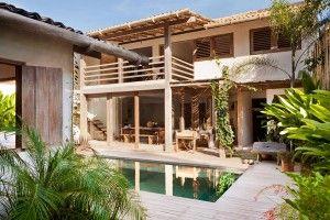 Casa de praia rústica em Trancoso
