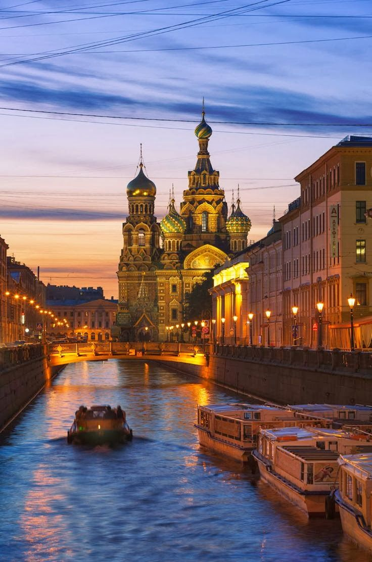 St. Petersburg, Russia. This city just feels alive at night. Would love to go back sometime www.trouvevoyage.com