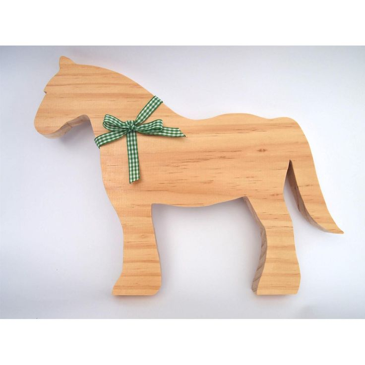 Simpledecorative Clydesdale Horse.A lovely gift idea or addition to any room of the house.Handmade from premium quality, sustainably sourced timber and finished in a clear matte varnish and ribbon.Horse will stand up on its own.Measurements: Height 310mm, Length 240mm, Width 18mmOther ribbon colours and stylesavailable. Due to natural variations in the grain of timber, your item may differ slightly from the picture. If you have any concerns please contact us.This item is for decorative…