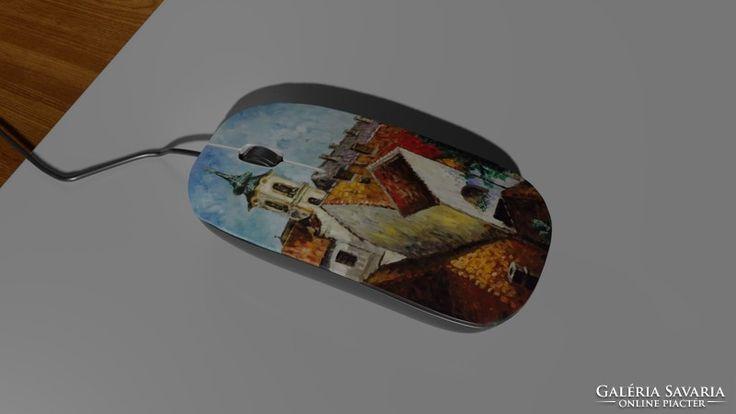 Computer mouse,mice - szentendrei festménnyel  5.