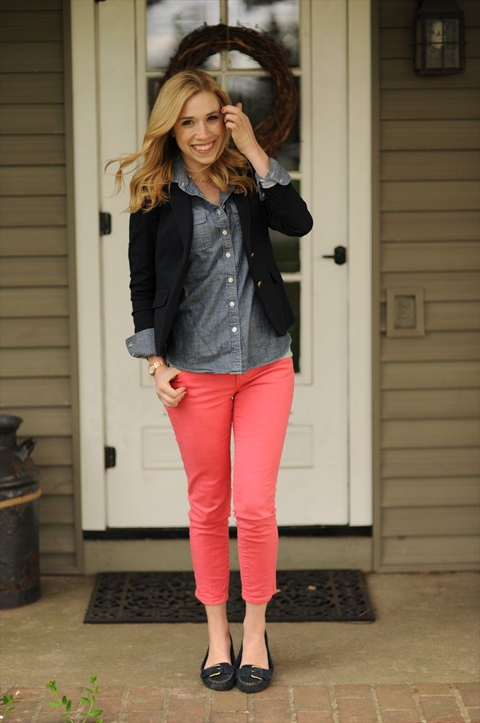 25 Best Ideas About Salmon Pants On Pinterest Coral