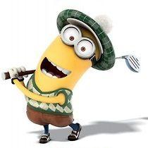 Even minions love golf attire!