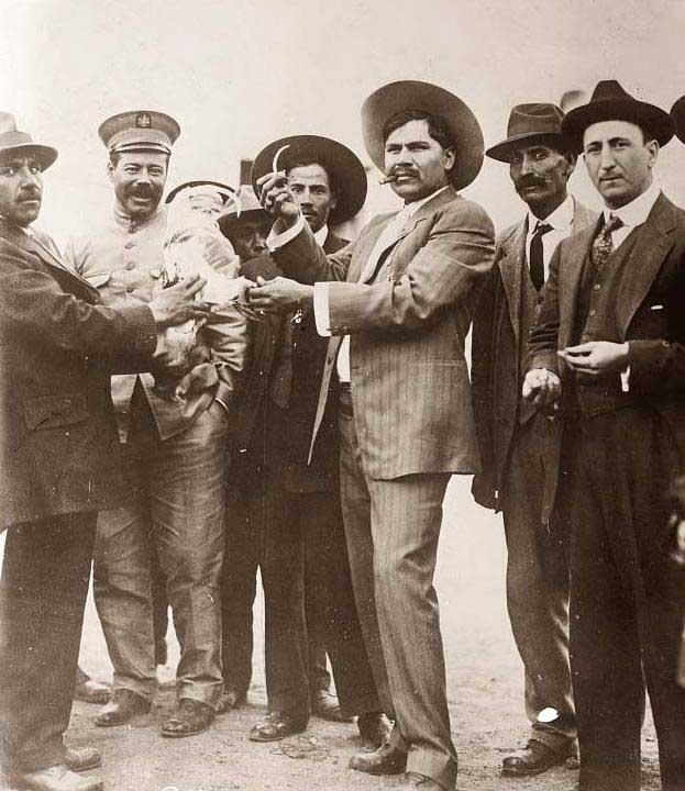 Pancho Villa and Madero