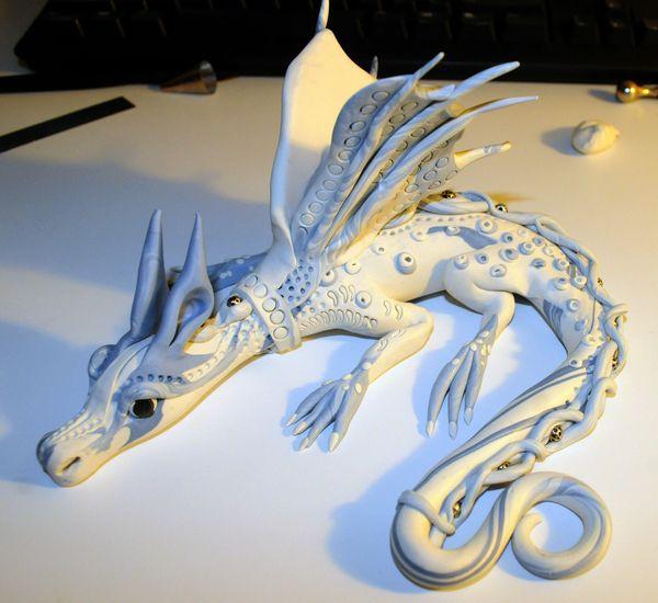 Polymer Pet Dragons by Erda Estremera, via Behance