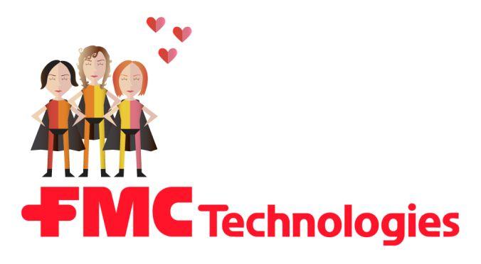 Vi fikk støtte fra FMC Technologies :)