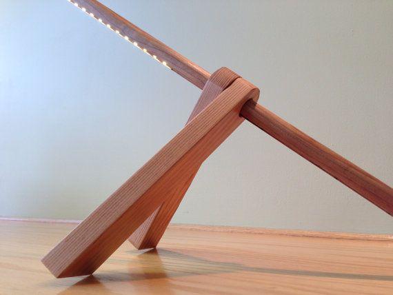 Modern Desk Lamp. ON SALE A-Lamp: Modern & Minimal by GaganDesign