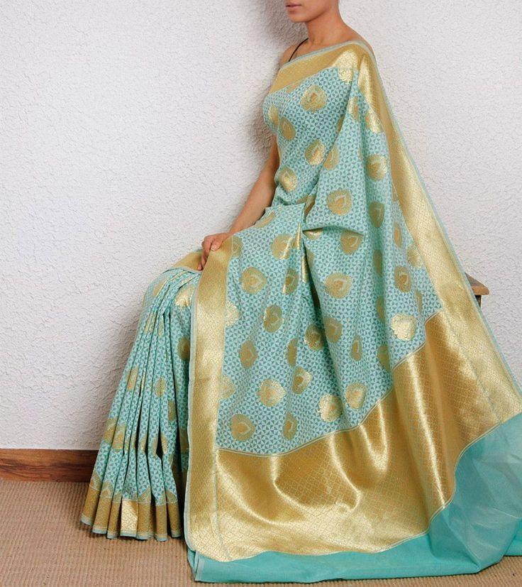Kora silk saree - favourite one so far