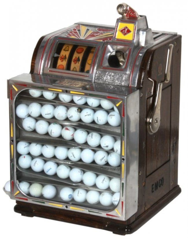 Ball slot machine
