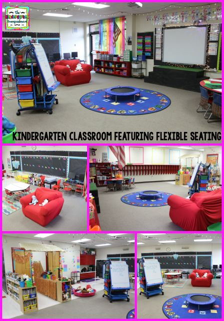 See how a kindergarten classroom uses no tables and no desks for flexible seating!  Click to find out more!